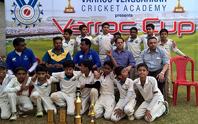 Chintamani Nimhan Cricket Academy Wins The Verroc Vengserkar Trophy