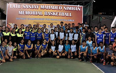 7th Sanjay Mahadeo Nimhan Memorial Basketball U-16 District Tournament